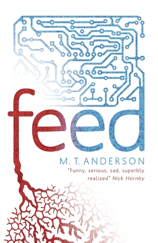 Dystopian Future in Feed by Mt Anderson